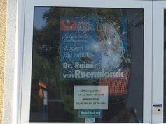 Bürgerbüro des AfD-Abgeordneten Rainer van Raemdonck in Falkensee (bei Berlin).