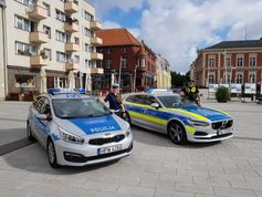 Marktplatz in Swinemünde Bild: Polizei