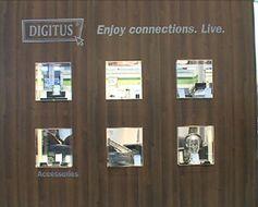Die Firma ASSMANN Electronic GmbH präsentierte mit der Marke DIGITUS® eine breite Auswahl von Computerzubehör und Netzwerkperipherie. Bild: ExtremNews