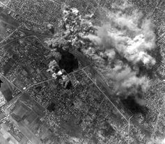 Bombardierung Szabadka 1944, Archivbild