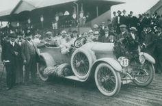 Graf Sascha nutzte den Laurin & Klement RK für private Zwecke, in den Jahren 1913 und 1914 Bild: SMB Fotograf: Skoda Auto Deutschland GmbH