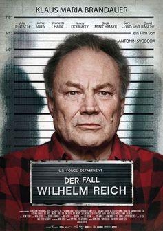 """Kinoplakat von """"Der Fall Wilhelm Reich"""""""