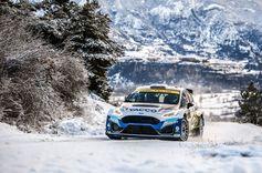 Adrien Fourmaux/Renaud Jamoul gehen mit dem Ford Fiesta Rally2 in der WRC2-Kategorie ins Rennen.  Bild: Ford M-Sport Fotograf: Ford-Werke GmbH