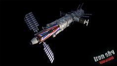 Modelll einer weltraumtauglichen Spitfire aus dem Spiel. Bild: TopWare Interactive AG