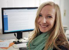 Dr. Christine Finn von der Universität Jena hat im Rahmen der aktuellen Studie ihre Dissertation ang Quelle: Foto: Jan-Peter Kasper/FSU (idw)