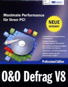 O & O Defrag V8 Professional Edition