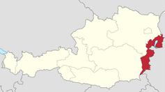 Burgenland in Österreich