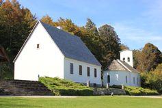 Das Geburtshaus im Dorf Smiljan, heute das Tesla-Museum in Kroatien