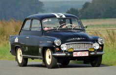 Mit dem OCTAVIA startete SKODA 1956 erstmals seit 1949 wieder bei der prestigeträchtigen Rallye Monte Carlo. Bild: Skoda Auto Deutschland GmbH Fotograf: Skoda Auto Deutschland GmbH