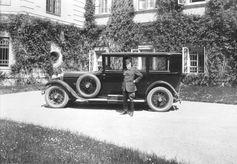Am 10. Mai 1926 wurde der Lieferschein für die beeindruckende Limousine SKODA Hispano-Suiza ausgestellt. Bild: SMB Fotograf: Skoda Auto Deutschland GmbH