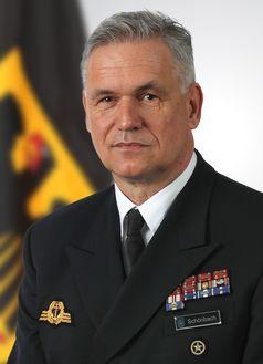Vizeadmiral Schönbach Bild: Bundeswehr