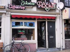 Rockit Amsterdam, ein kleiner Coffee Shop