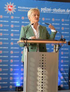 Rednerin Renate Künast, MdB Bild: Polizei