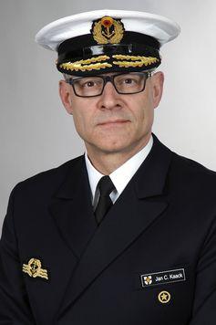 Konteradmiral Jan Christian Kaack (58) ist der designierte Nachfolger im Amt des Befehlshaber Flotte und Unterstützungskräfte der Marine. Bild: Bundeswehr