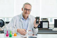 Karl Leo, Finalist des Europäischen Erfinderpreises 2021  Bild: Europäisches Patentamt (EPA) Fotograf: Europäisches Patentamt (EPA)