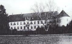 Schloss Bánffy in Bonchida, 19. Jahrhundert, Archivbild