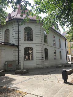 """Schmiererei an der Cottbuser Synagoge Bild: """"obs/AfD-Fraktion im Brandenburgischen Landtag/AfD-Fraktion Brandenburg"""""""