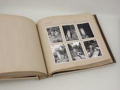 Bilder der Reise von 1934-1935 (Teilnehmer Alfons Bayrle, Adolf Ellegard Jensen, Helmut von den Steinen, Helmut Wohlenberg). Quelle: Steigerwald (idw)