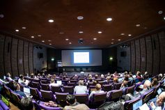80 Vertreterinnen und Vertreter der EuroSea-Partner treffen sich am RBINS in Brüssel.