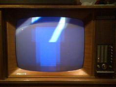 Erster deutscher Farbfernseher Telefunken PAL Color 708S, 1967