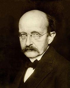 Planck, Physiker und Entdecker der Quantenphysik,