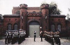 Wechsel der Wachmannschaft im Gefängnis von Spandau, 1986