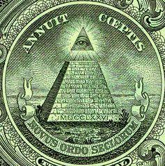 Siegel der Vereinigten Staaten auf der Ein-Dollar-Banknote