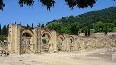 Die große Portikus an der Westseite der Plaza de Armas Quelle: Felix Arnold/DAI (idw)
