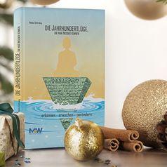 """""""Die Jahrhundertlüge, die nur Insider kennen"""" gibt es jetzt auch als exklusive Weihnachtsedition inklusive Probekapitel aus dem zweiten Buch und handsignierter Weihnachtskarte"""