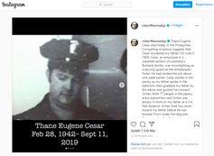 Robert F. Kennedy jr. über Thane Eugene Cesar auf Instagram