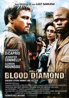 Filmplakat Blood Diamond