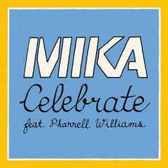 "Single ""Celebrate"" feat. Pharrell Williams von MIKA.  Bild: UNIVERSAL MUSIC GMBH"