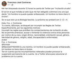Anlage 1 Bild: Screenshot Twitteraccount Francisco José Contreras / Eigenes Werk