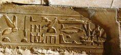 Abydos-Hieroglyphen
