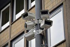 Videoüberwachung, Kontrolle, Angst und Spionage (Symbolbild)