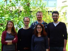 Forschungsgruppe Molecular Mem-brane Biology: (v.l.) Daryna Ta-rasenko, Michael Meinecke, Mariam Bar Quelle: Foto: privat (idw)