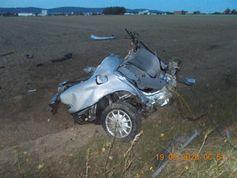 Bilder von der Unfallstelle Bild: Polizei