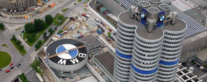 BMWZentrale in München Bild BMW, über dts  ~ Staubsauger Zentrale München