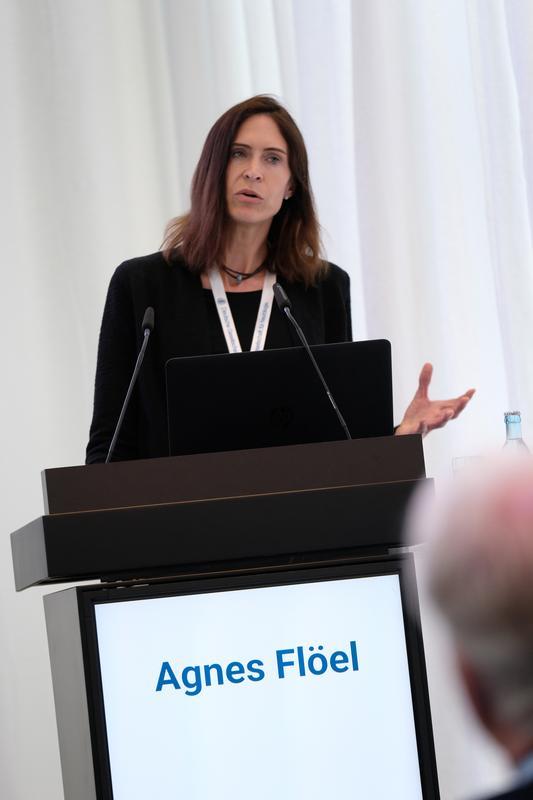 Professor Agnes Flöel von der Neurologischen Universitätsklinik ...