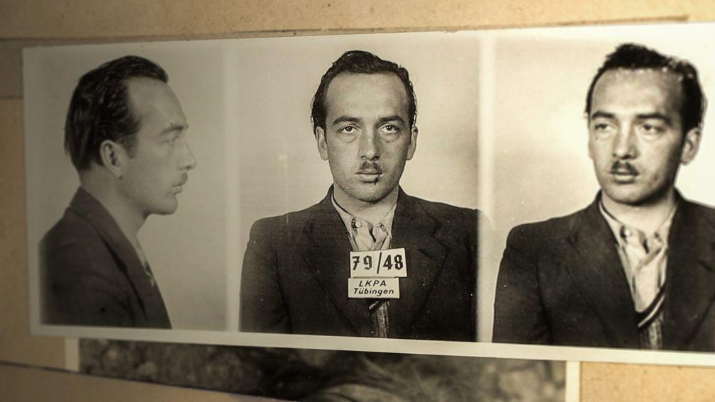 Zu den spektakulären Kriminalfällen der Nachkriegszeit gehört auch Raubmörder Richard Schuh - der letzte durch die westdeutschen Justiz hingerichtete Verbrecher Bild: ZDF Fotograf: ZDF/Hauptstaatsarchiv Ba-Wü