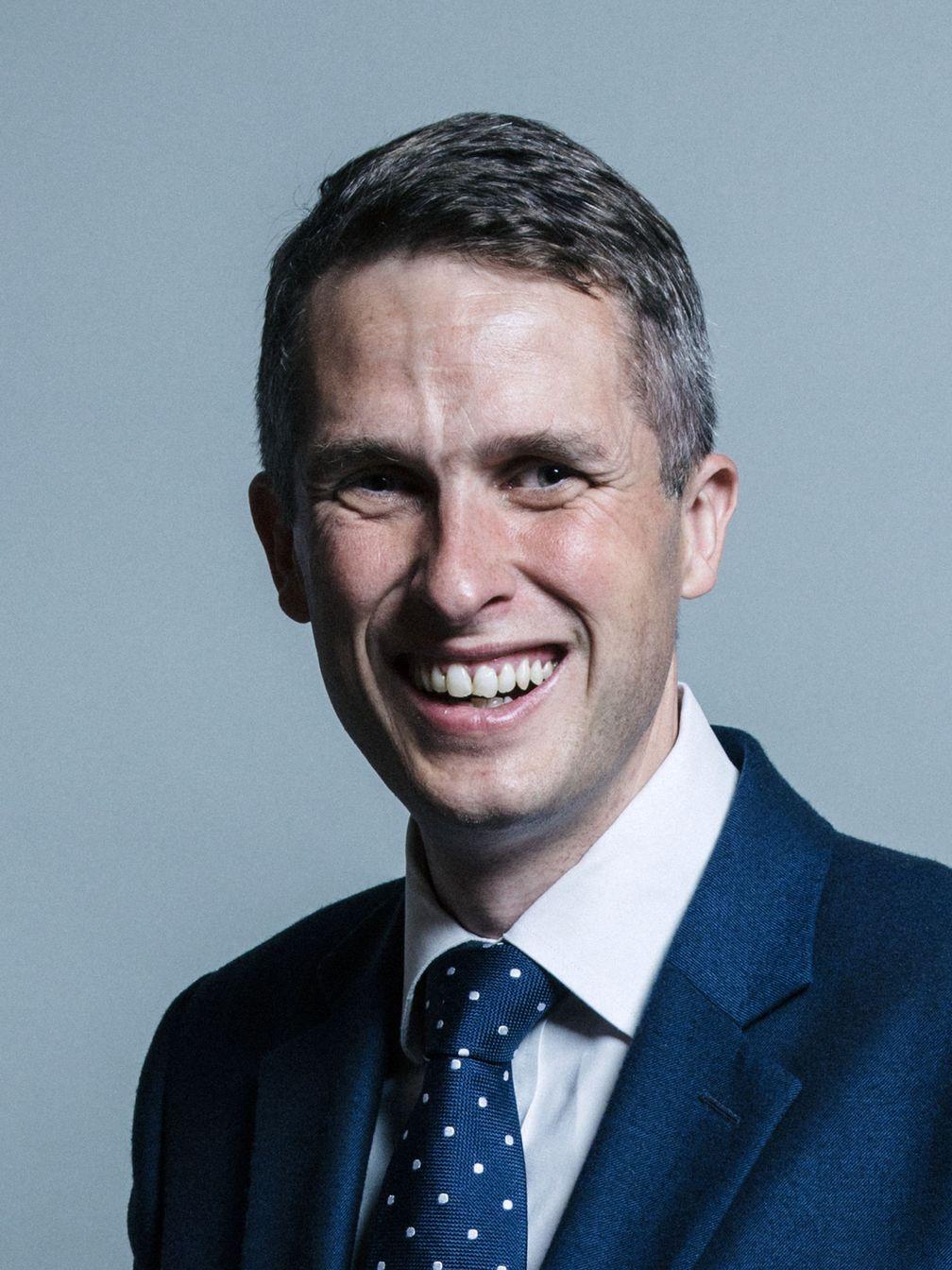 Gavin Williamson (2017)