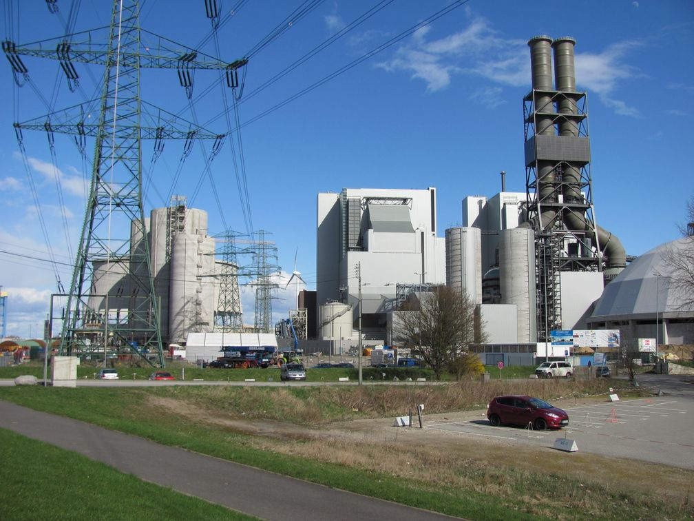 Kohlekraftwerk Moorburg