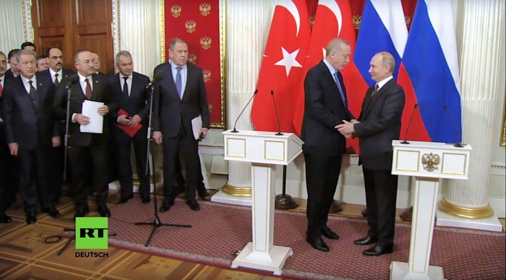 Putin und Erdogan vereinbaren neue Waffenruhe für Idlib
