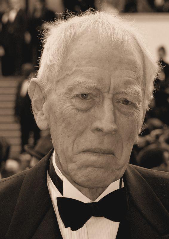Schauspieler Max Von Sydow