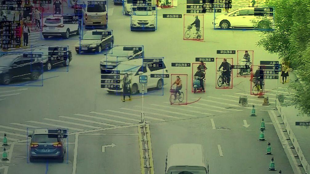 Totalüberwachung: In China gang und gebe. Warum nicht auch in Deutschland? Überwacht wird lediglich die Bevölkerung, nicht die Regimeträger (Symbolbild)
