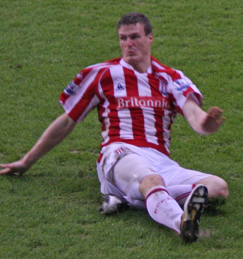 Robert Huth im Trikot von Stoke City