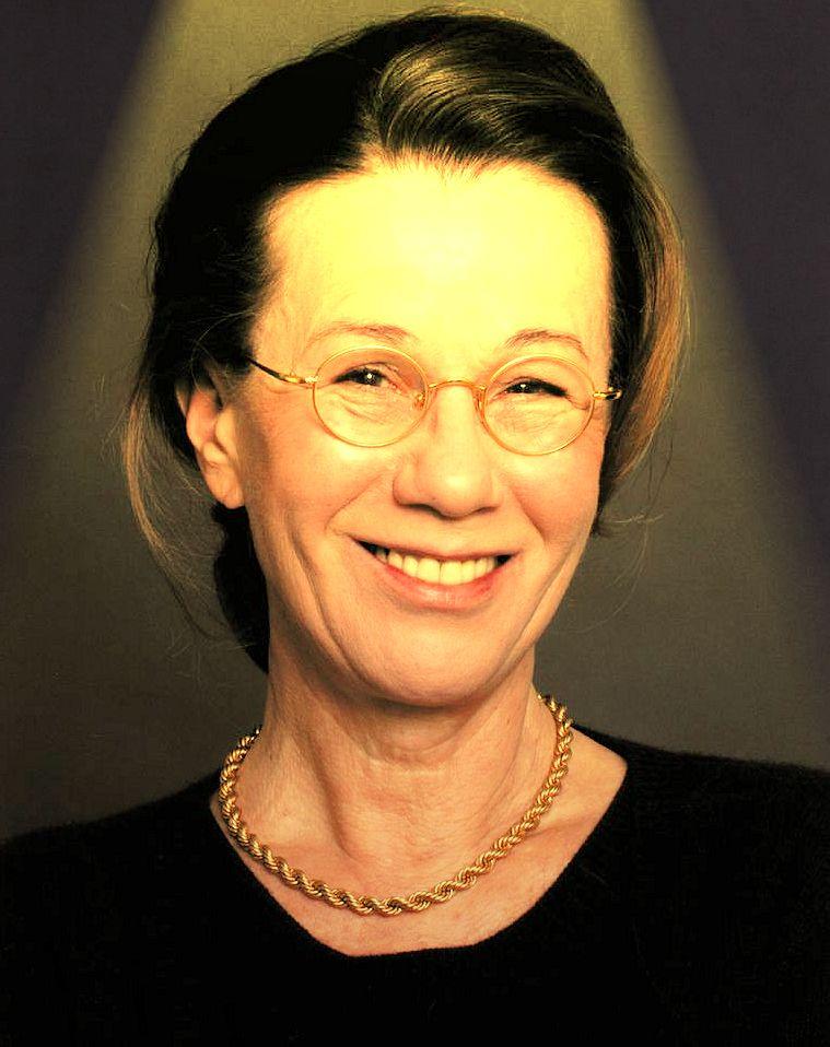 Karin Gregorek wurde aus Zufall Schauspielerin