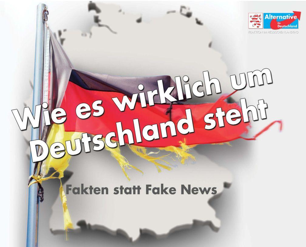 """Neue AfD-Studie: """"Wie es wirklich um Deutschland steht"""""""
