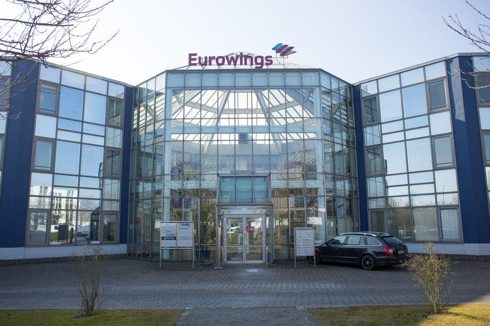 Sitz der Eurowings in Düsseldorf