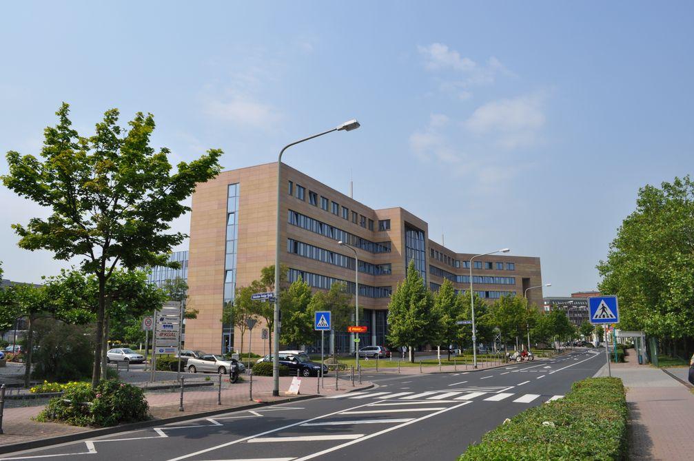 Sitz der Bundesanstalt für Finanzdienstleistungsaufsicht (BaFin) in Frankfurt am Main, Mertonviertel